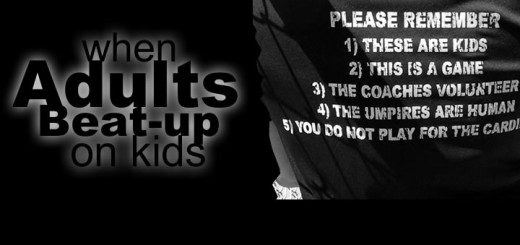 When adults beat-up on kids