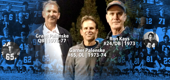 Grand and Garner Palenske, and Ron Kays (l-to-r).